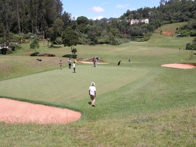 A Golf Course in the Hills of Southern India
