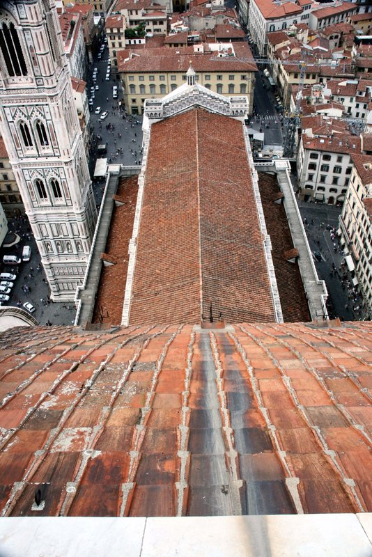 View from the Duomo, Florence