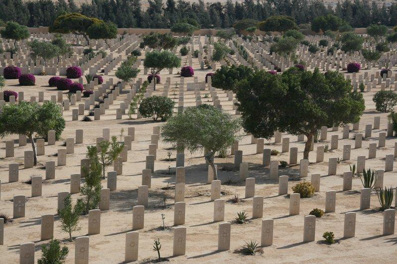 El Alamein - British Cemetery
