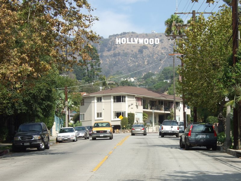The Hollywood sign... obviously
