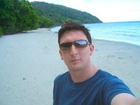 Me on the beach at Cape Tribulation