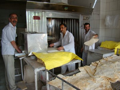 local bakery Kashan