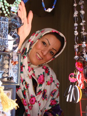 Young lady in Abyaneh