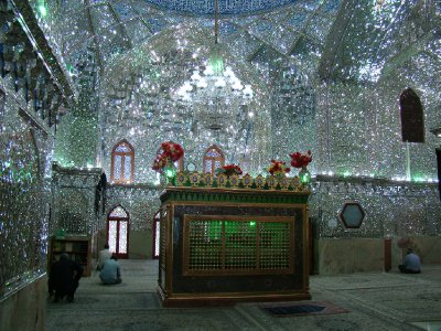 One of the many shrines in Shiraz