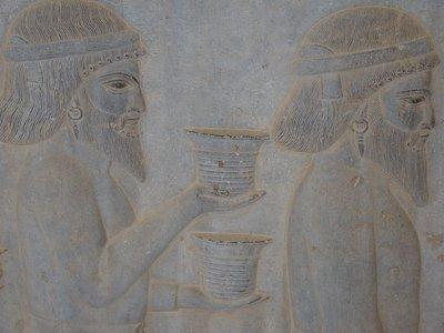 fresco Persepolis