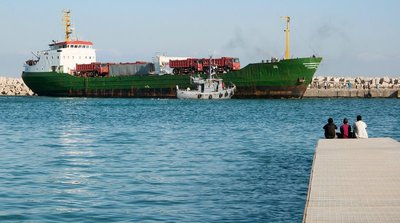 Bosaso Harbour Puntland Somalia