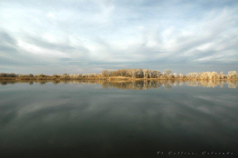 Fort Collins Colorado Reflection II