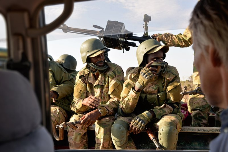 Presidents Guards, Puntland Somalia