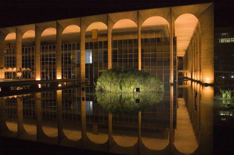 Foreign affairs building Brasilia