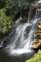 Lencois water fall