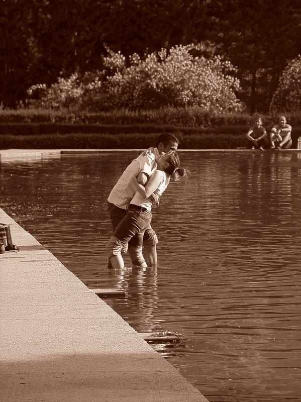 Summer love in Madrid