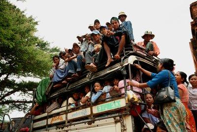 Public Transport - Burmese Style