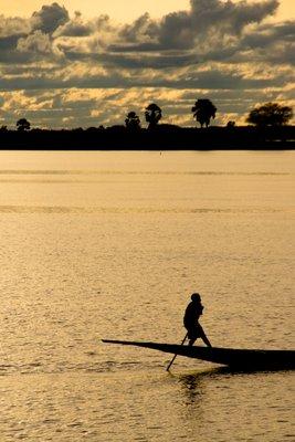 Sunset at Segou