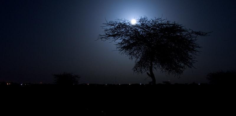 Moonrise over Timbuktu