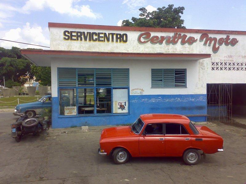 Service station in Pinar del Rio