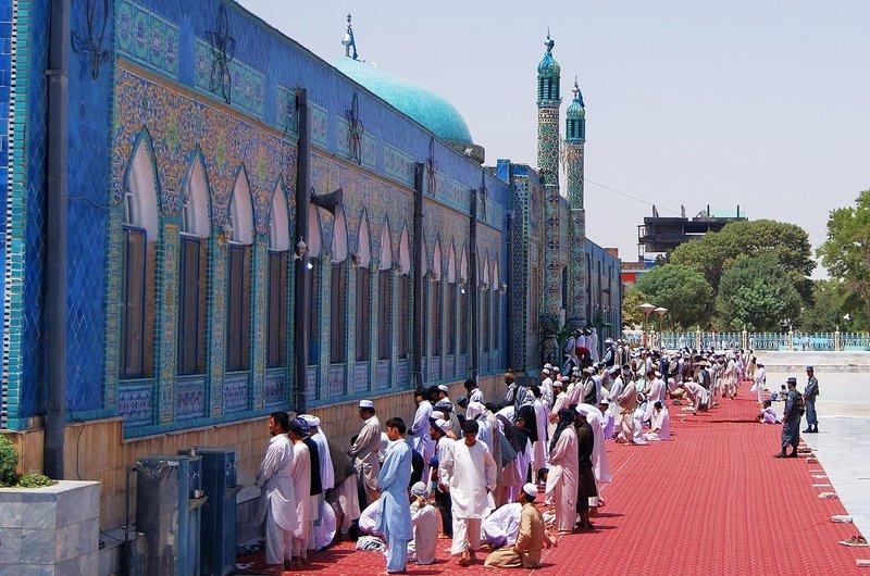 Blue Mosque Mazar - e - Sharif