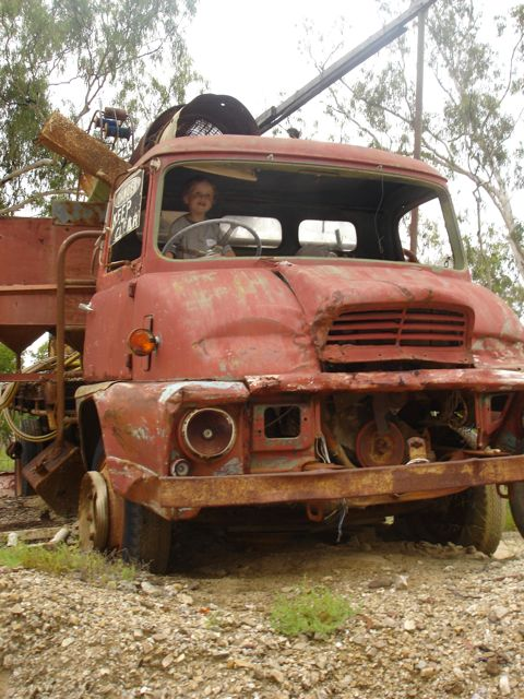 TowMater in Rubyvale