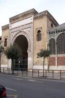 Málaga market entrance