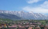 Gran Sasso range from L'Áquila