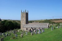 St Levan's Church, West Cornwall