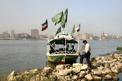 Our Nile boat