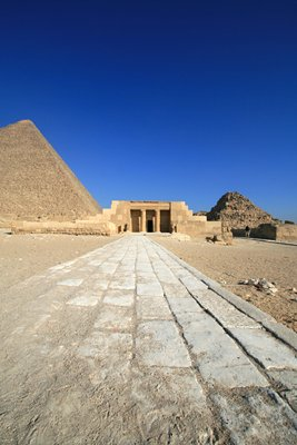 Temple attached to Great Pyramid