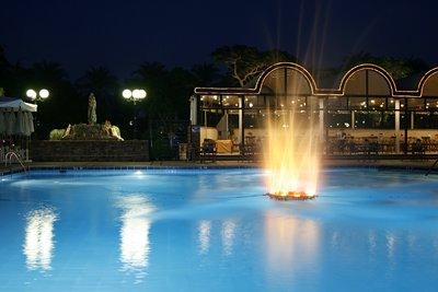 Oasis Hotel @ night