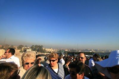 Entrance to Giza Pyramids