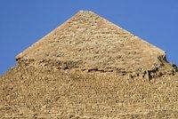 Pyramid of Khufu limestone casing