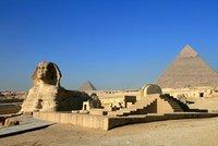 Sphinx of Giza & Khafre Pyramid