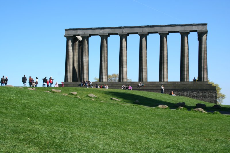 National Monument on Carlton Hill