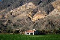 Hacienda in front of the Paleta del Pintor