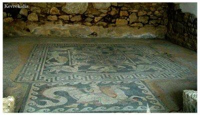The House of the Mosaics - Eretria, Greece.