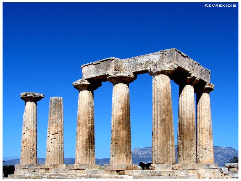 Ancient Corinth - Temple of Apollo