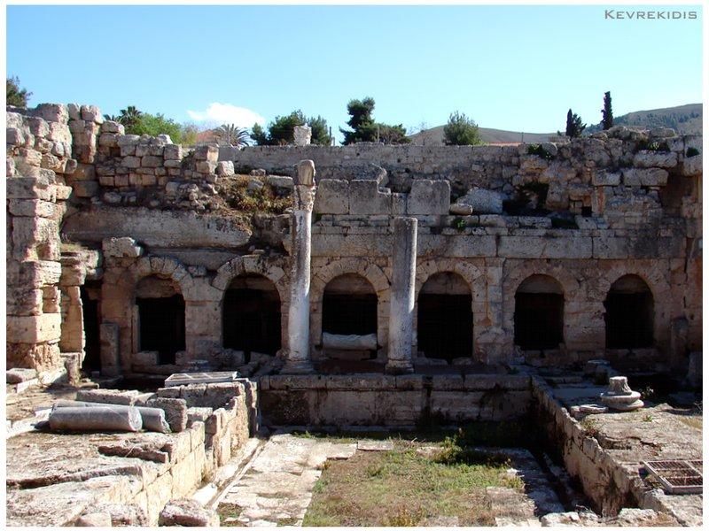 Ancient Corinth - Peirene Fountain