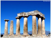 Ancient Corinth - Temple of Apollo