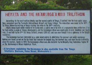 Description of Ha'amonga