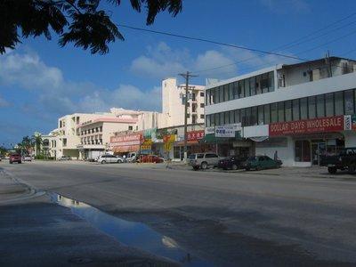 Downtown Saipan