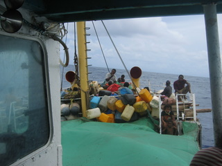 Rolling towards Honiara