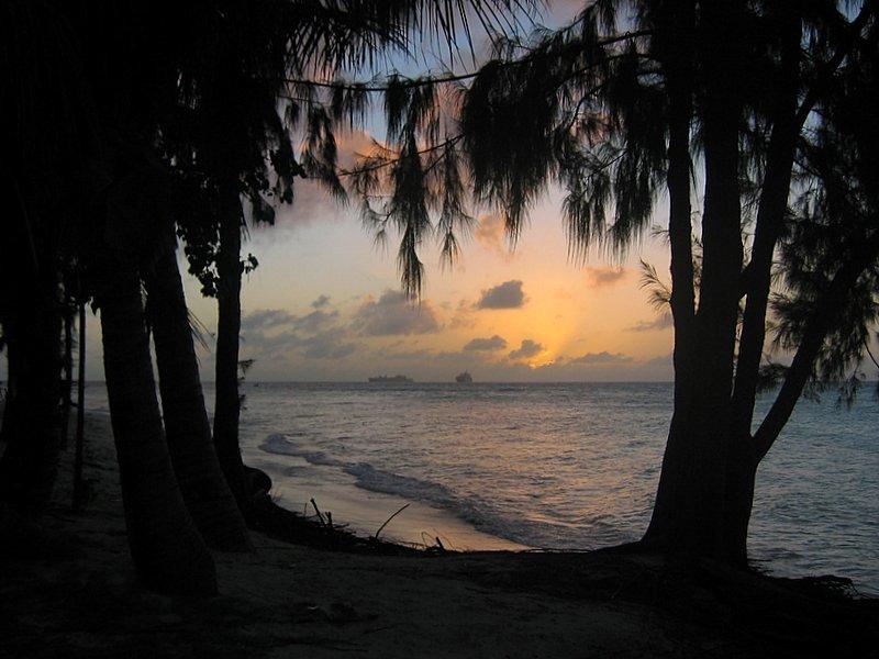 Sunset on Saipan
