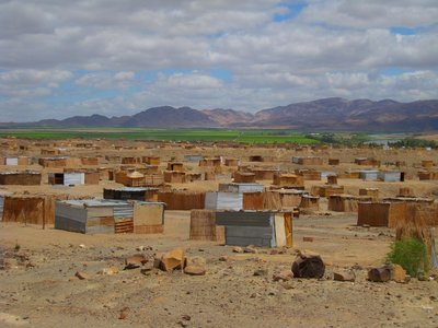 Namibia Oranje River Vineyard village for workers [1024x768]