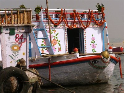 1-16-08 RPW boat on the Ganges