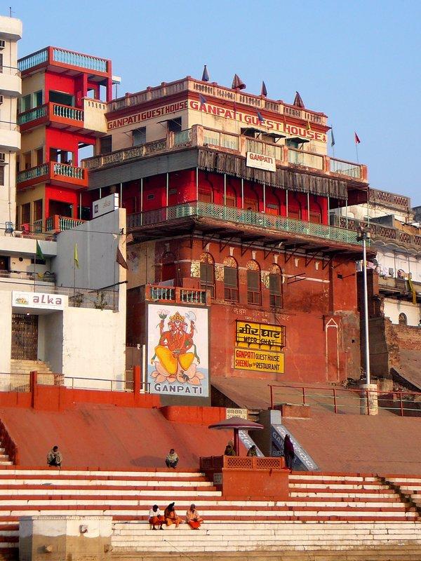 Morning on the Ghat - Varanasi