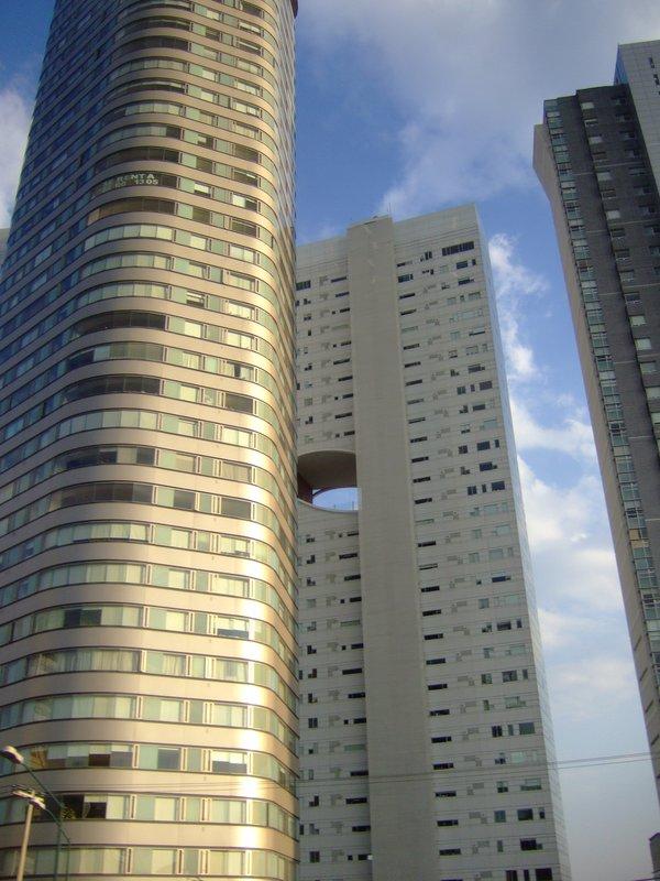 buildings; santa fe, d.f.