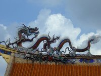 Temple Roof Dragon