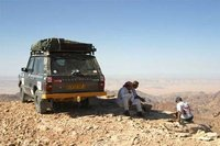 Looking out over Wadi Araba
