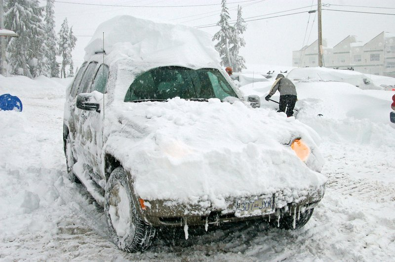 Snowed-in on Vancouver Island