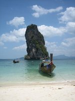 Beach near Krabi