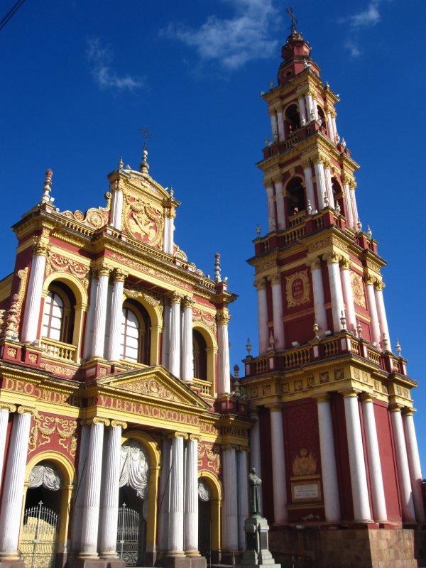 Koloniale Kirche in Downtown-Salta
