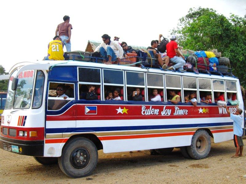 Public Transport in El Nido, Palawan
